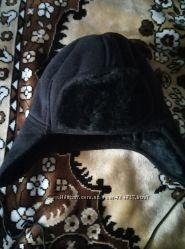 шапка искусственная замша-мех