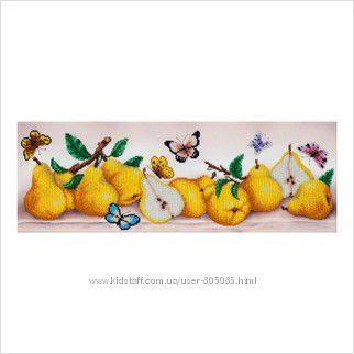 Грушевый, яблочный, грибной бум, наборы для вышивания бисером