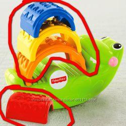 Веселый крокодил от Fisher Price