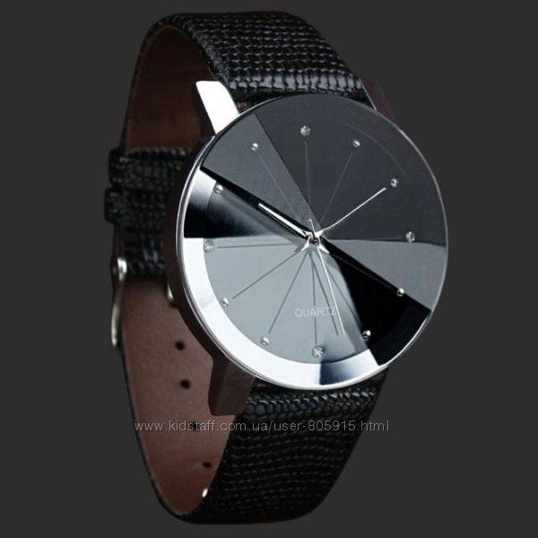 Наручные часы с граненым стеклом