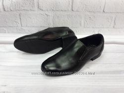 Классические кожаные туфли на мальчика с 34-39 рр. Украина