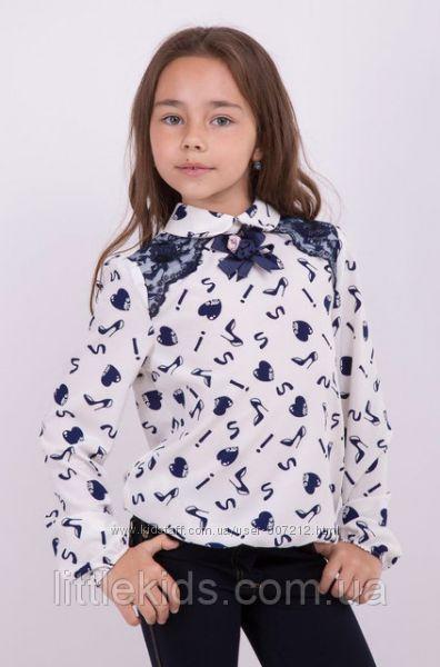 Блузка шифоновая для девочек