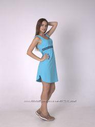 Женское платье. Домашнее платье. Летнее хлопковое платье  Роксана 635