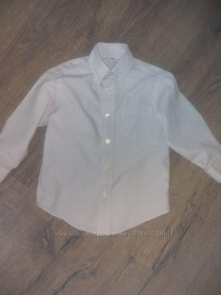 Рубашка голубая palomino 104р