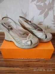 Босоножки туфли летние CARNABY London размер 36 нат. кожа