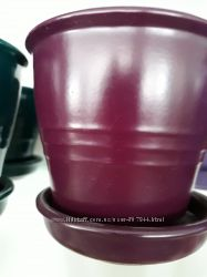 Керамический вазон Ведро