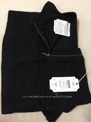 Джинсовая черная юбка bershka denim есть l и м