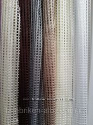 Тюль сетка Соты цвета в ассортименте