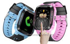 Детские часы Smart watch G51 розовые и голубые
