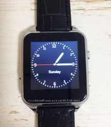 Умные часы smart watch x7 leather belt