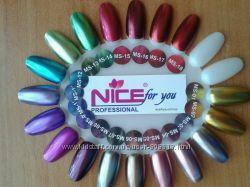 гель-лаки металлик от Nice 8, 5 г