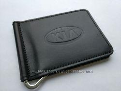 Зажим для денег из натуральной кожи KIA