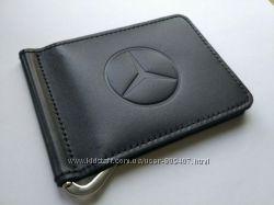 Зажим для денег из натуральной кожи Mercedes-Benz