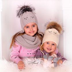 Оригинальные зимние шапки Совушки
