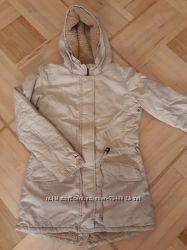 Куртка парка Benetton xs, s