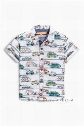 Рубашки next, mayoral и carters 24м, 2-3 года