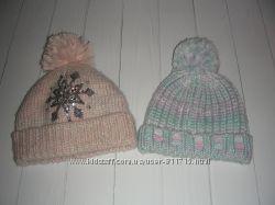 Красивые теплые шапочки 8-11 лет.