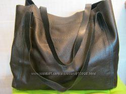Турция Нат. кожа большая сумка шоппер Доступно