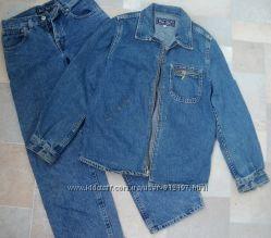 Джинсовая куртка и джинсы мальчику р 36 146