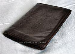 Винтажый кожаный кошелек
