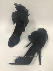 Черные туфли Alexander McQueen