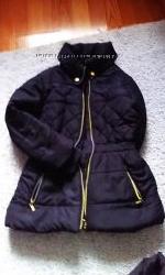 Куртка на флисе zara next bluezoo 8-9 лет