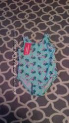 Новый купальник для девочки 12-18 месяцев, замеры на фото.