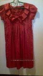 Атласное платье для беременной El Mora, фирменное. S, M, L. Состояние отлич