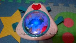 Музыкальный ночник Океан с рыбками, Baby einstein, музыка, свет.
