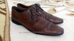 Натуральная кожа Мужские туфли от  Rubber 44 размера.  Стелька 30, 5 см, п