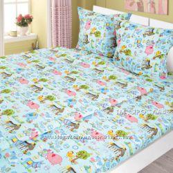Детский комплект постельного белья Свинка