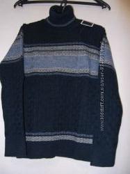 Удобный гольф-свитер полушерсть р. 116-164