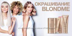 Осветление волос Blondme Schwarzkopf Professional