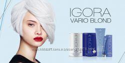 Осветляющие пудры и кремы Igora Vario Blond