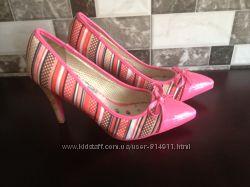 Яркие шикарные туфли лодочки на каблуке 11 см. dolly do 39 р. 25, 5 см
