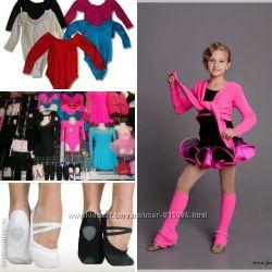 Гимнастическая одежда купальники, лосины, балетки, трико, платья латино,