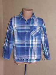 Рубашка Rebel на 5-6 лет в идеальном состоянии