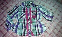 Рубашка-блузон, 2-3 года