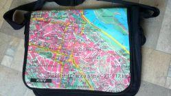 Сумка для ноутбука с картой Киева