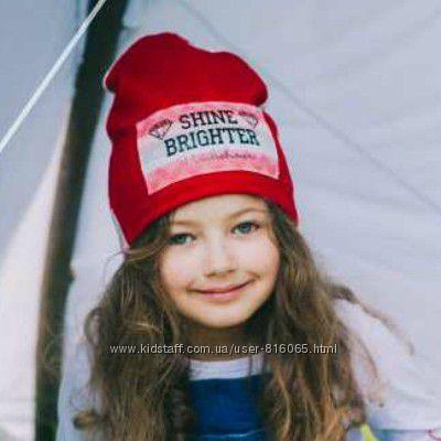 Деми шапочки для малышек 42-46