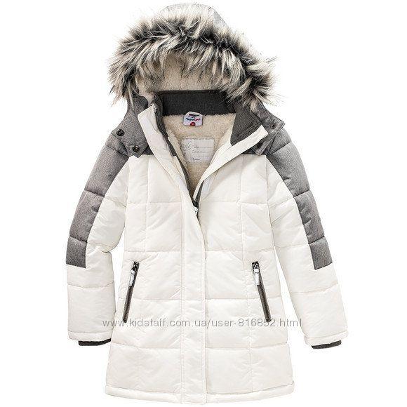 Пальто термо 8 лет 128 см Тополино Topolino деми еврозима