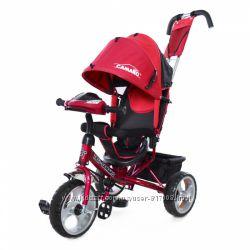 Тилли Камаро T-345 Eva детский трехколесный велосипед с фарой Tilly Camaro