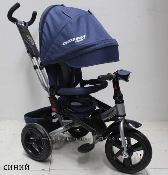 Кросер Тринити Т400 Фара велосипед трехколесный Сroser Triniti детский