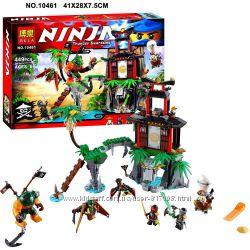 Конструктор Bela Ninja 10461 аналог Ninjago нинзяго 448 дет