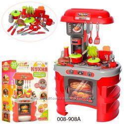 Кухня детская 008 908 игровой набор с посудой LimoToy