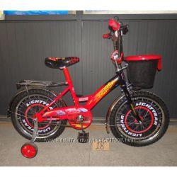 Мустанг Тачки велосипед Mustang CARS 12 16 18
