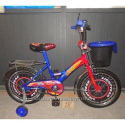 Мустанг Тачки велосипед двухколесный Mustang CARS 12 14 16 18 дюймов