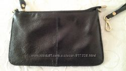 мини сумочка клатч натуральная кожа