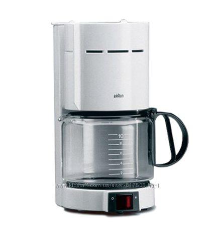 Кофеварка Braun KF471 WH белый