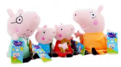 Семья. Свинка Пеппа, Джордж, мама , папа. Peppa Pig Пеппа Пиг